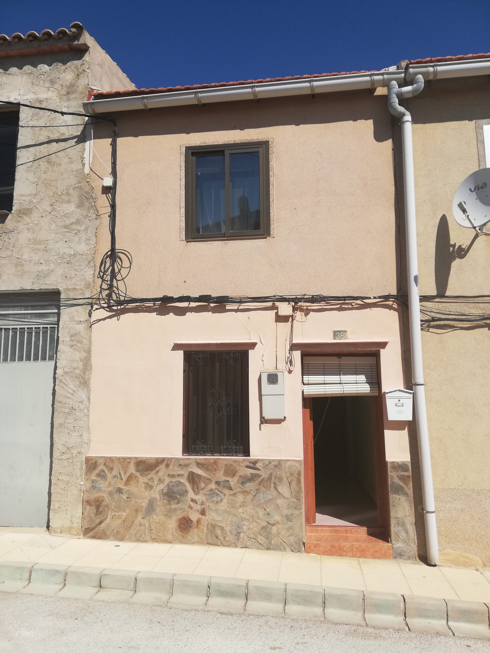 Casa en Calle Cervantes de Bonete